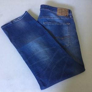 AE Extreme Flex Relaxed Straight Jeans 36X30